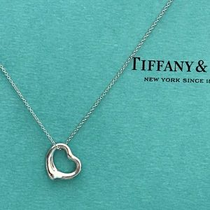 Tiffany Elsa Peretti small open heart